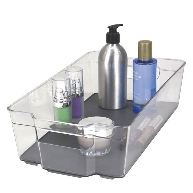 Acrylic Bathroom Organizer Bins