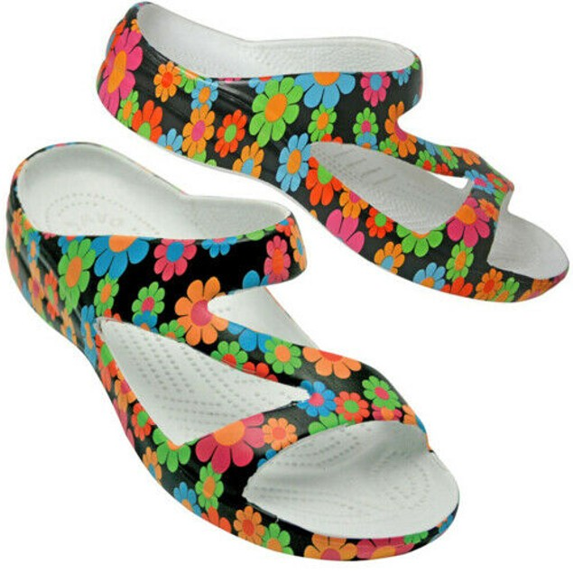 Dawgs Women's Arch Support Loudmouth Z Sandals