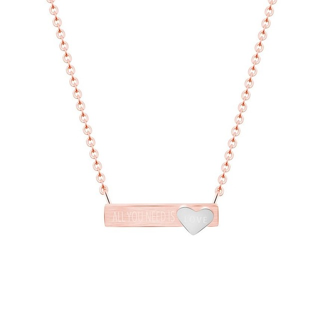 """""""All You Need is Love"""" Necklace"""