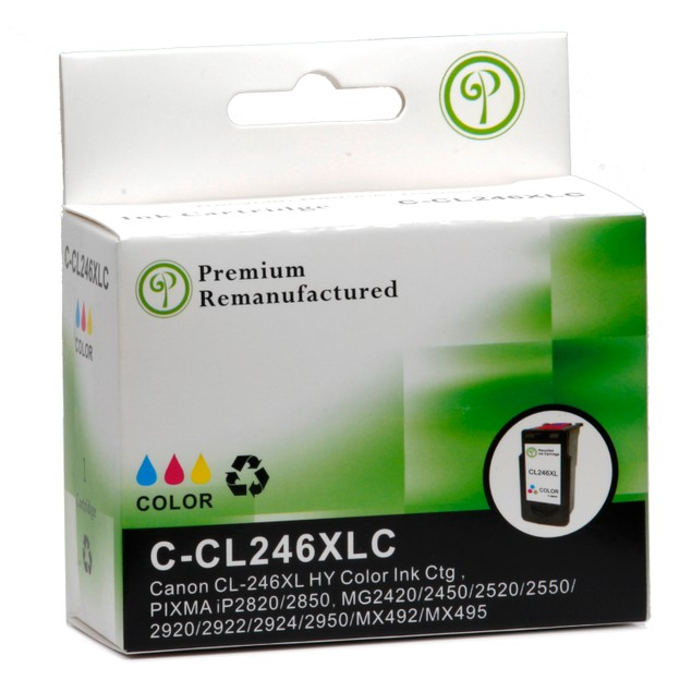 Canon PG245XL/CL246XL Compatible Ink 2-Pack (High Yield Black & Tri-Color)
