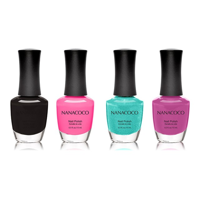 4-Pack:  Nanacoco Nail Polish Mystery Deal!