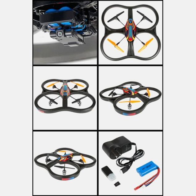 Panther Spy Drone UFO with Video Camera 4.5CH 2.4G
