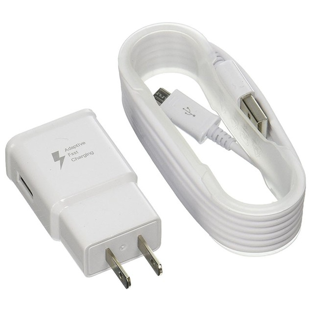 Samsung Fast Charge Travel Charger with 5-Foot Micro USB Cable