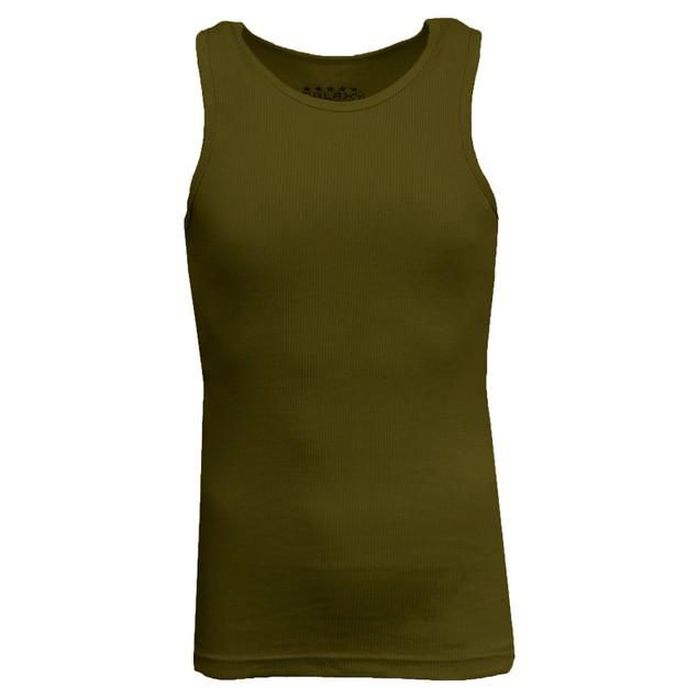 Men's Heavyweight Ribbed Tank Top
