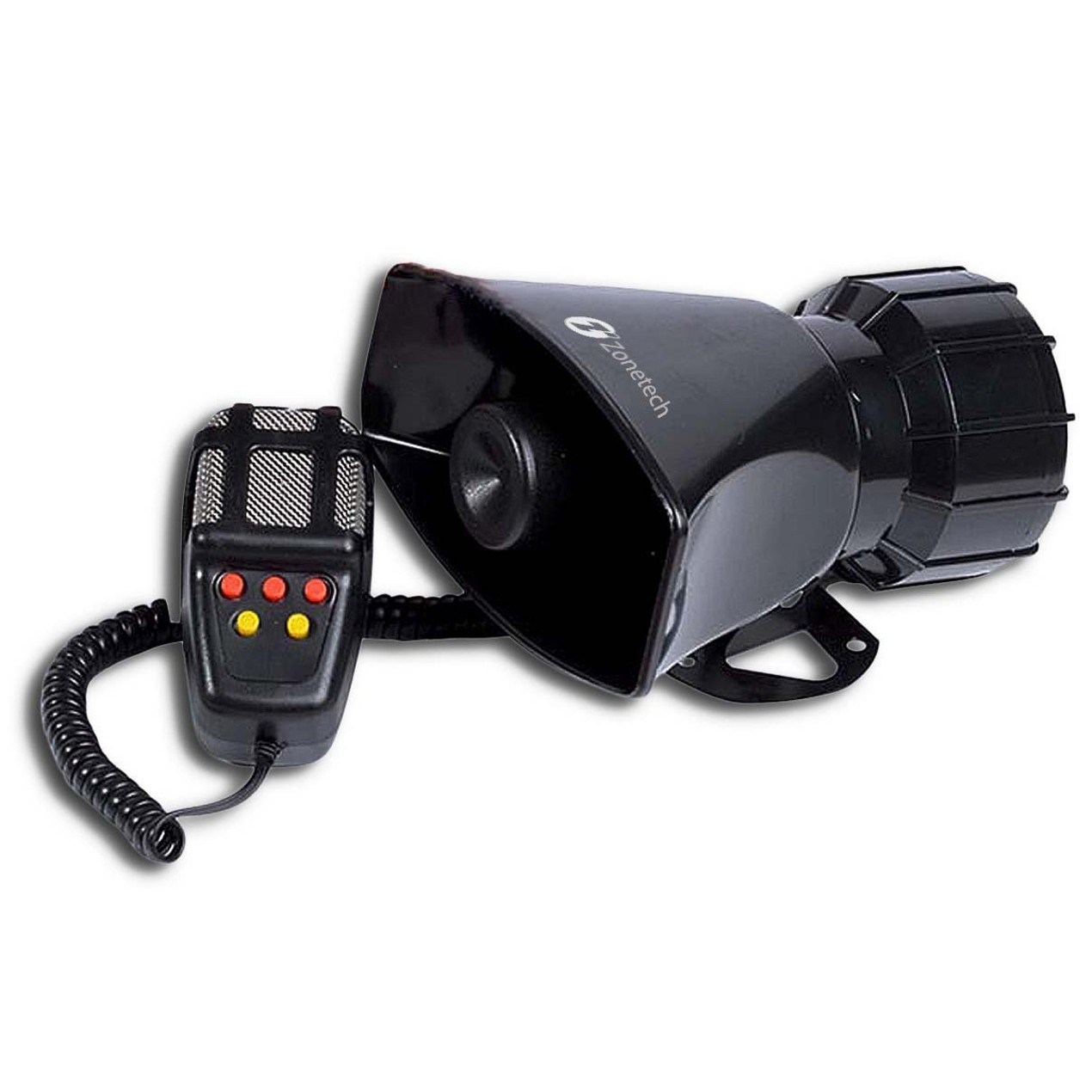 Zone Tech Super Loud Car Vehicle Five Tone 60W Police PA Air