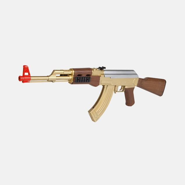 AK-47 721B Gold FPS-190 Spring Airsoft Rifle