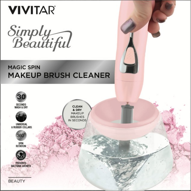 Vivitar Simply Beautiful Makeup Brush Cleaner