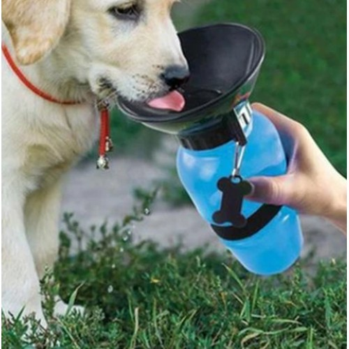 2-in-1 Pet Water Bottle and Bowl
