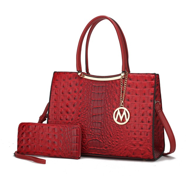 MFK Collection Sarah Satchel Bag by Mia K