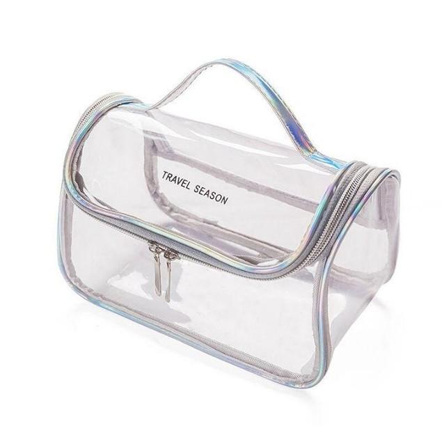 Transparent Waterproof Toiletry Bag
