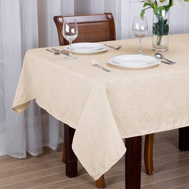 4-Pack Elegant Decor Fabric Tablecloths