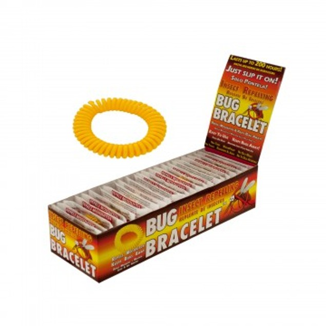 10-Pack Mosquito Repellent Bracelets