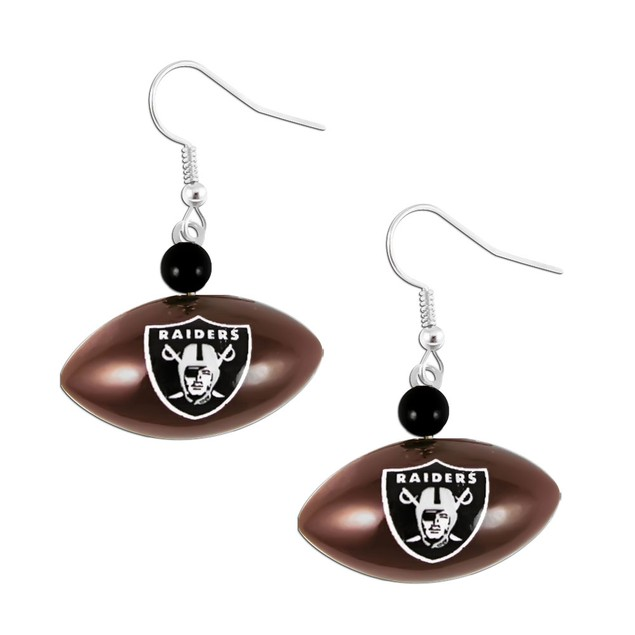 LA Los Angeles Chargers Sports Team Logo Mini Football Dangle Earring