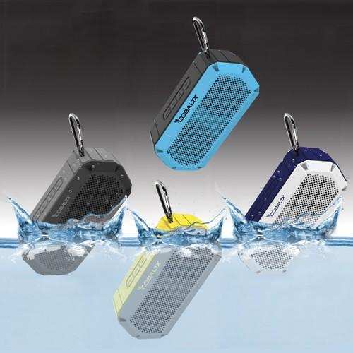 Tank Ipx7 Waterproof Rugged 10w Bluetooth Speaker