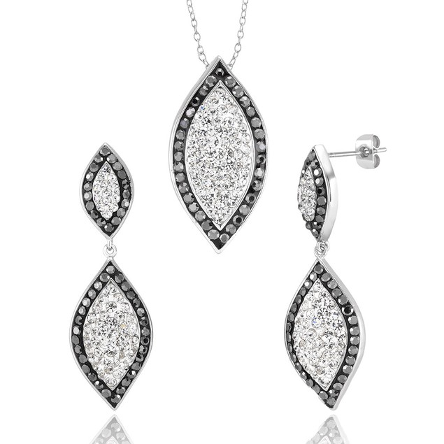 Crystal Earring and Necklace Sets - 5 Styles