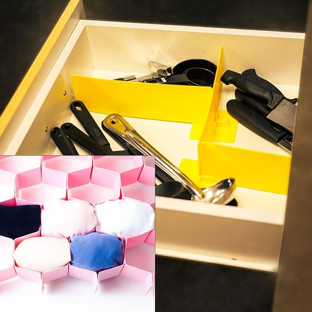 15 piece Kitchen Utility Drawer Organizer Set Kit