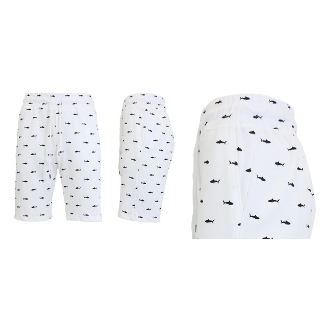 Men's French Terry Printed Shorts
