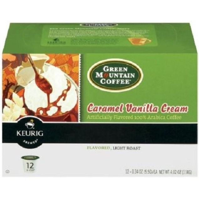 Green Mountain Coffee Caramel Vanilla Cream Keurig K-Cups