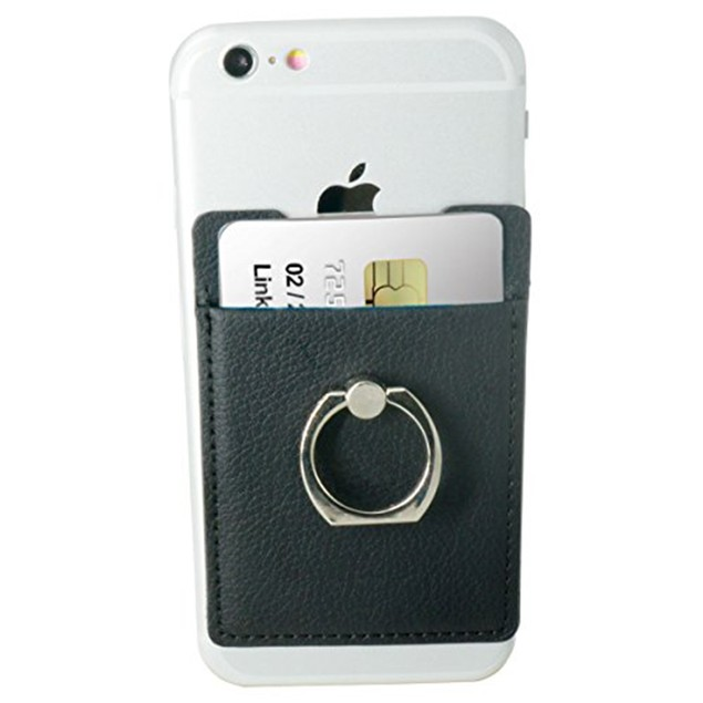 2-Pack Ring Cling Cardholder