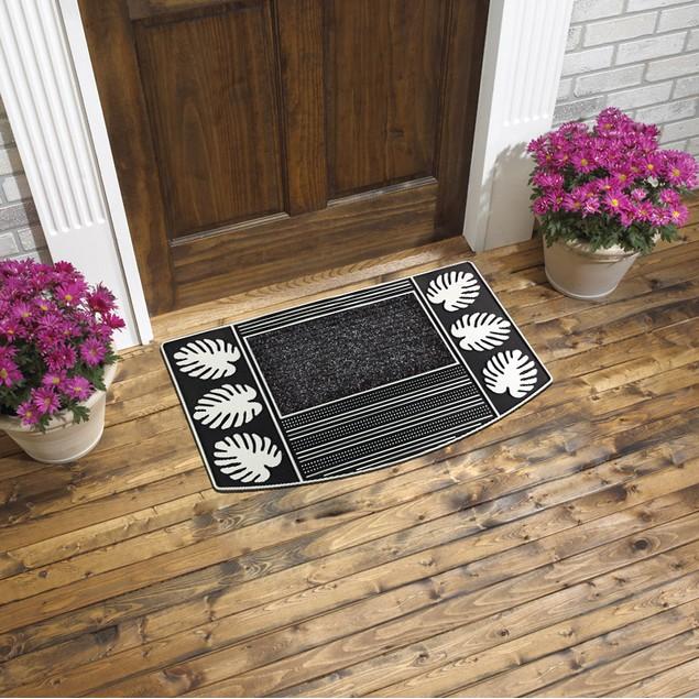"""Durable Rubber Indoor Outdoor Door Mats (18"""" x 28"""")"""