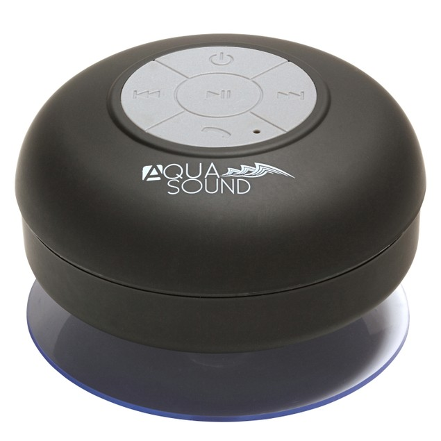 Aduro AQUASound Shower Bluetooth Speaker w/ Mic