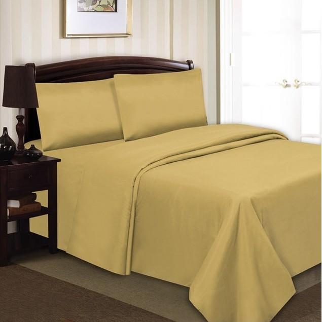 4-Piece Set: Simple Elegance Wrinkle-Free Sheets