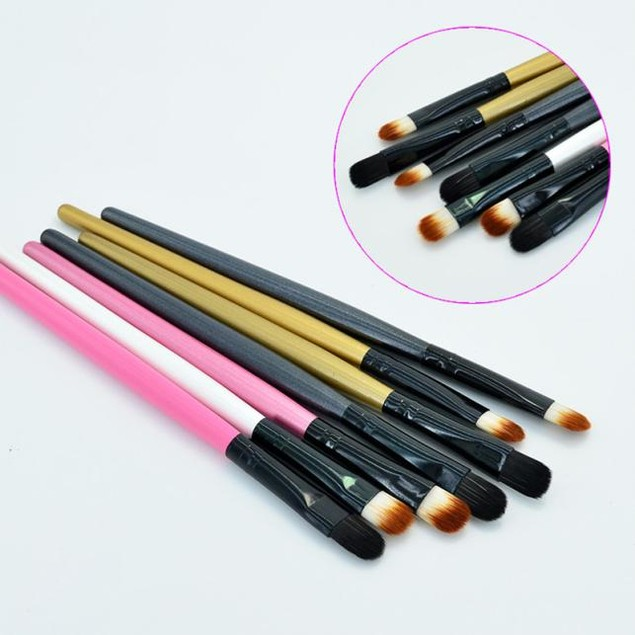 7-Piece Eyebrow Cosmetic Makeup Brush Set