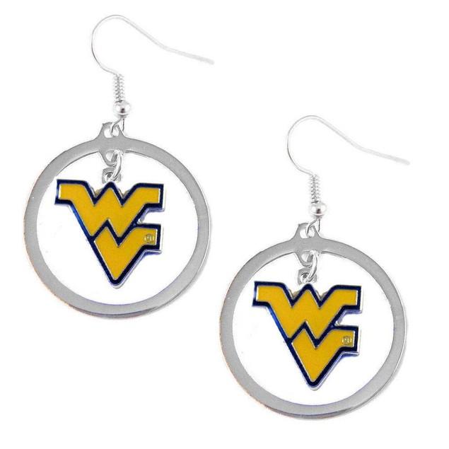 NCAA Sports Team Hoop Logo Charm Earring Set