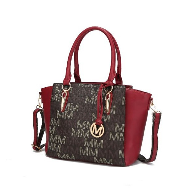 MKF Collection Janna M Signature Satchel by Mia K