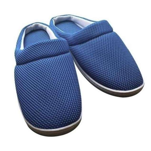 Men's Cool Bamboo Anti-Fatigue Gel Slippers