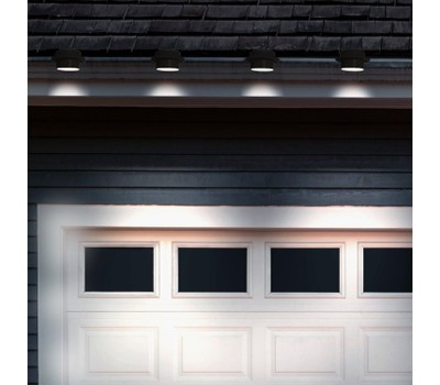 4-Pack: Solar-Powered LED Outdoor Lights (Black Or White) Was: $33.99 Now: $23.99.