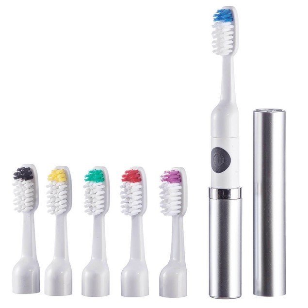 Vivitar Sonic Ultra Toothbrush with 6 Brush Heads