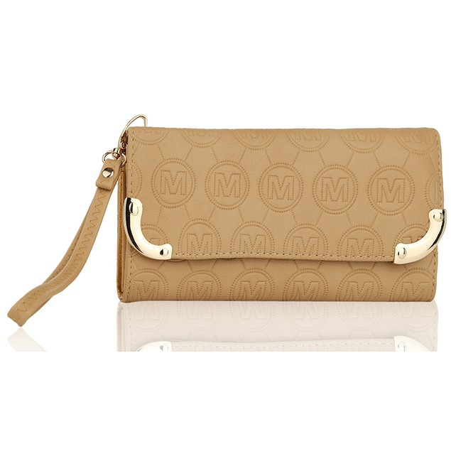 MKF Collection Venus Embossed Wristlet by Mia K.