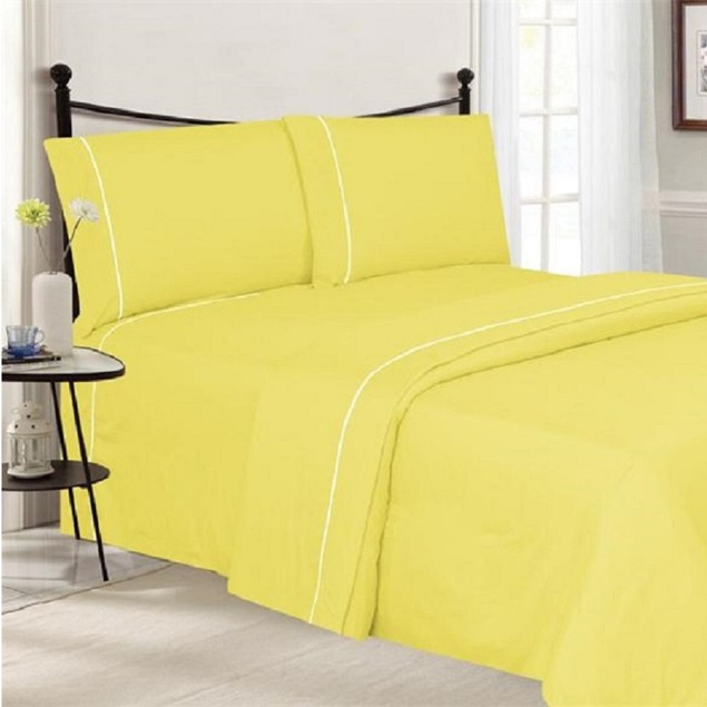 Ultra-Luxe Double-Brushed Wrinkle-Free Pipeline Sheet Set