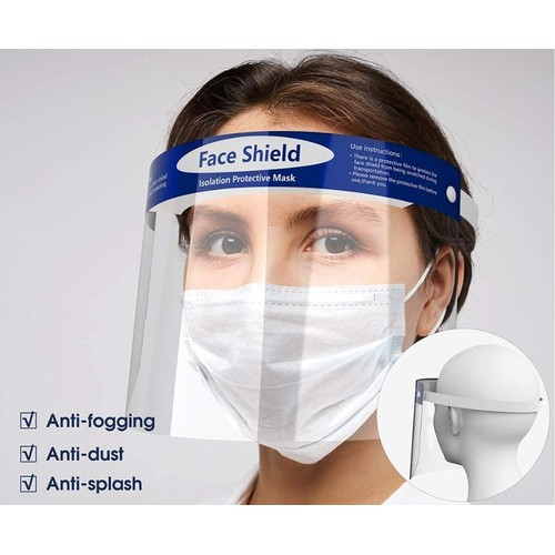 Full Face Protective Clear Protective Face Shields