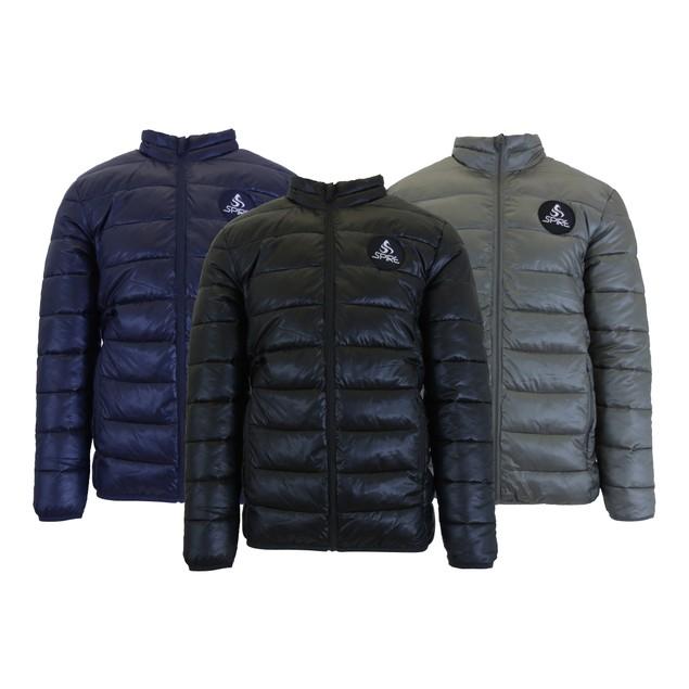 Men's Lightweight Puffer Bubble Jacket