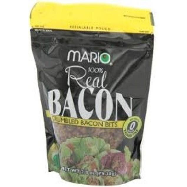 MARIO BACON BITS 2.8 OZ BAG