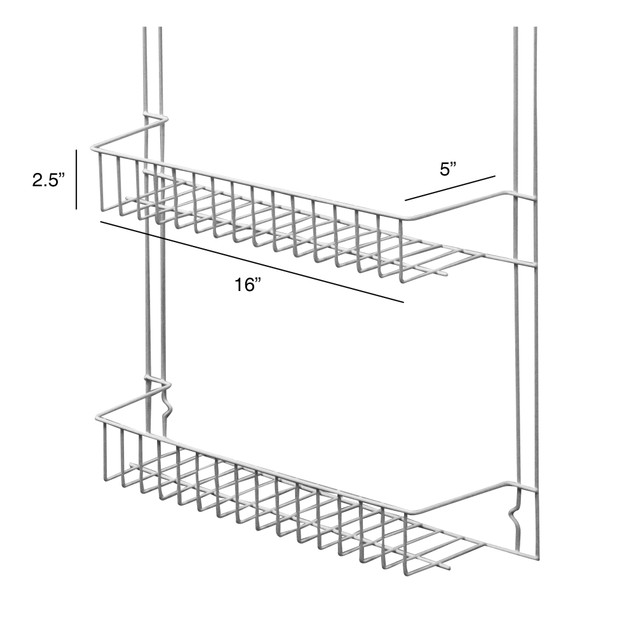 Lavish Home 6-Shelf Overdoor Storage Rack