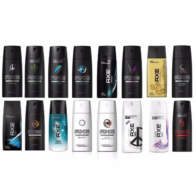 12-Pack AXE Body Spray Deodorant