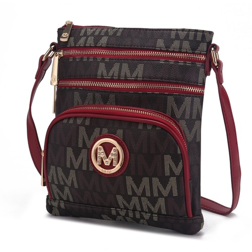 MKF Collection Brie M Signature Crossbody by Mia K.