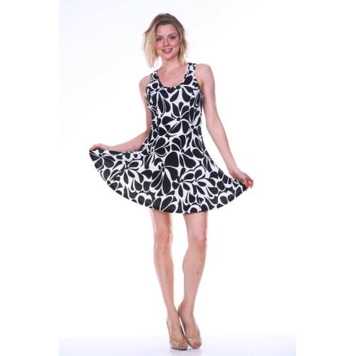 White Mark's Floral Celica Dress