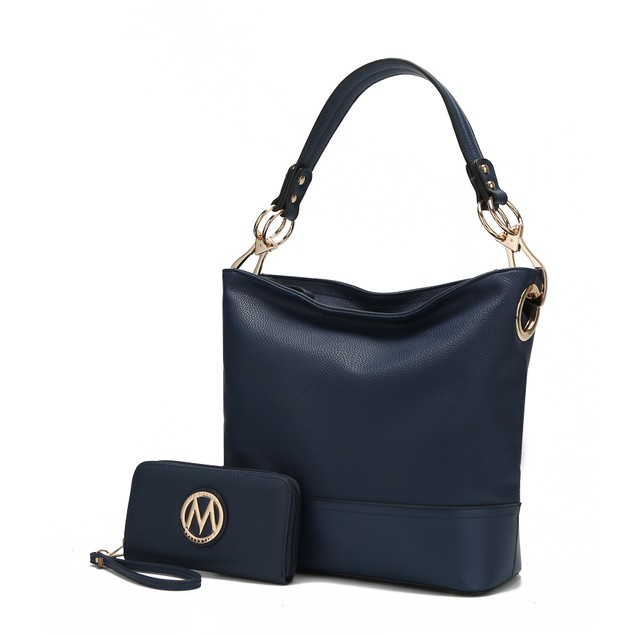 MKF Collection Magnolia Hobo Bag with Wallet by Mia K.