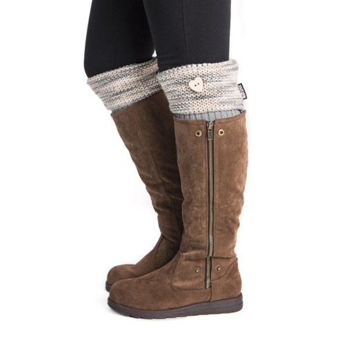 MUK LUKS  Women's 1-Pair Heart Boot Toppers