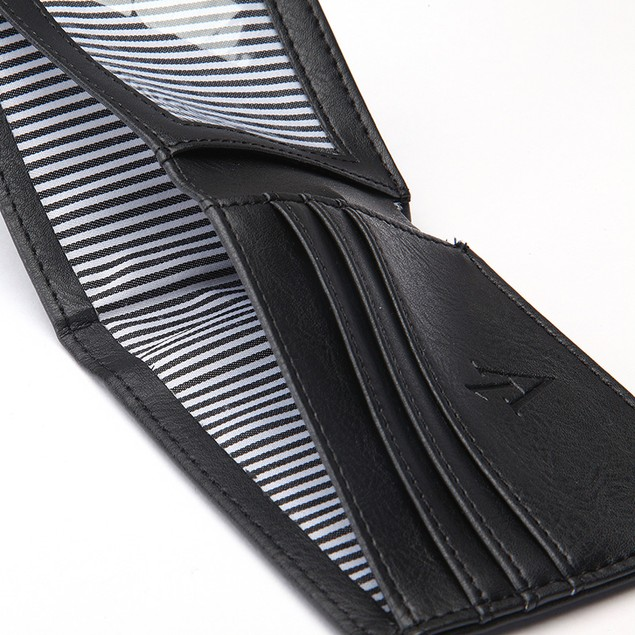 The Vault RFID Blocking 100% Leather Wallet