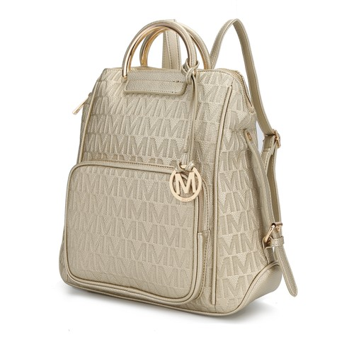 MKF Collection by Mia K. Torra  Milan M Signature Trendy Backpack