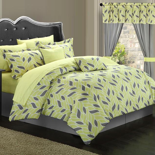 Chic Home 20-Piece Bolivia Paisley Print Reversible Comforter Set