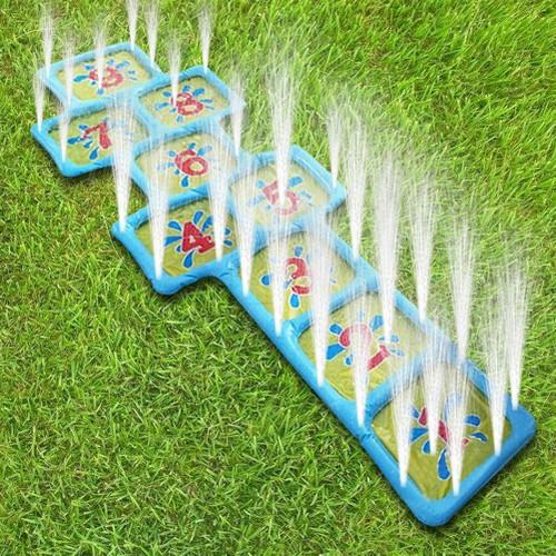 Hopscotch Game Mat Spray Water Sprinkler