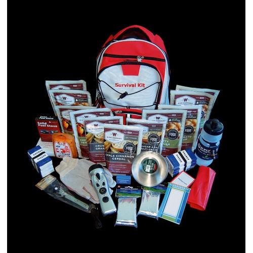 Wise Foods - 2 Week Essential Survival Backpack
