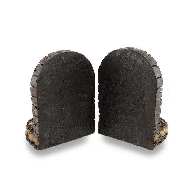 Zombie Breaking Out Of Grave Bookend Set Of 2 Decorative Bookends