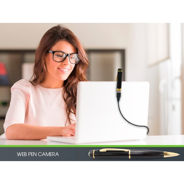 Spy Pen Camera - 1280 x 720 High Resolution - Watch the Video